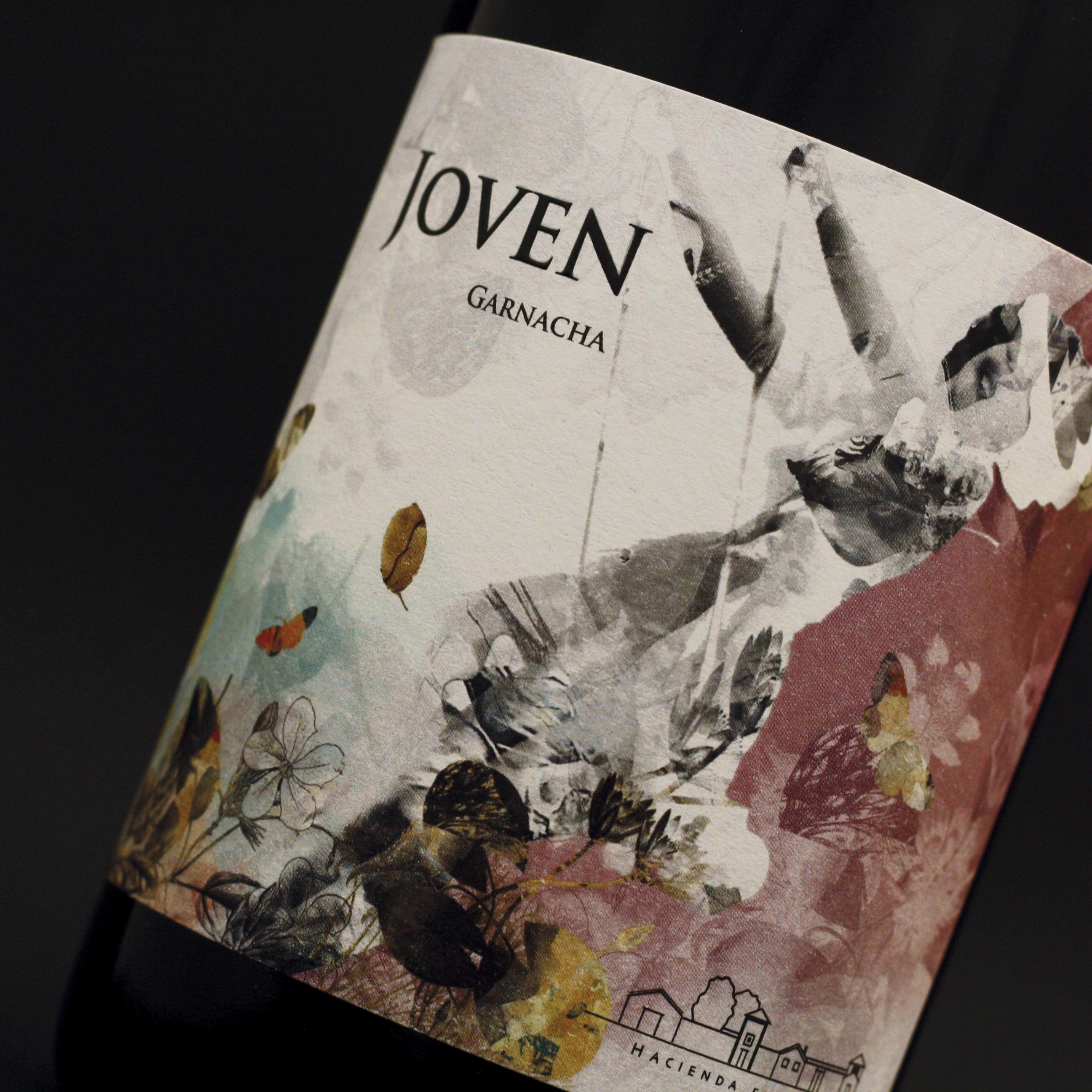 diseño etiqueta vino la joven hacienda el espino Giovanni Acquaviva