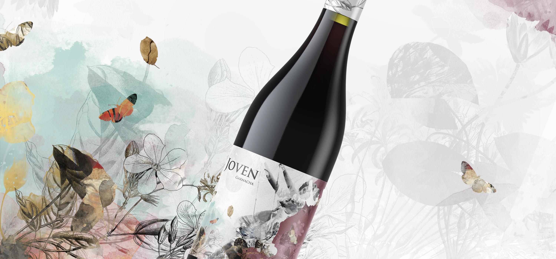 diseño etiqueta vino Giovanni Acquaviva