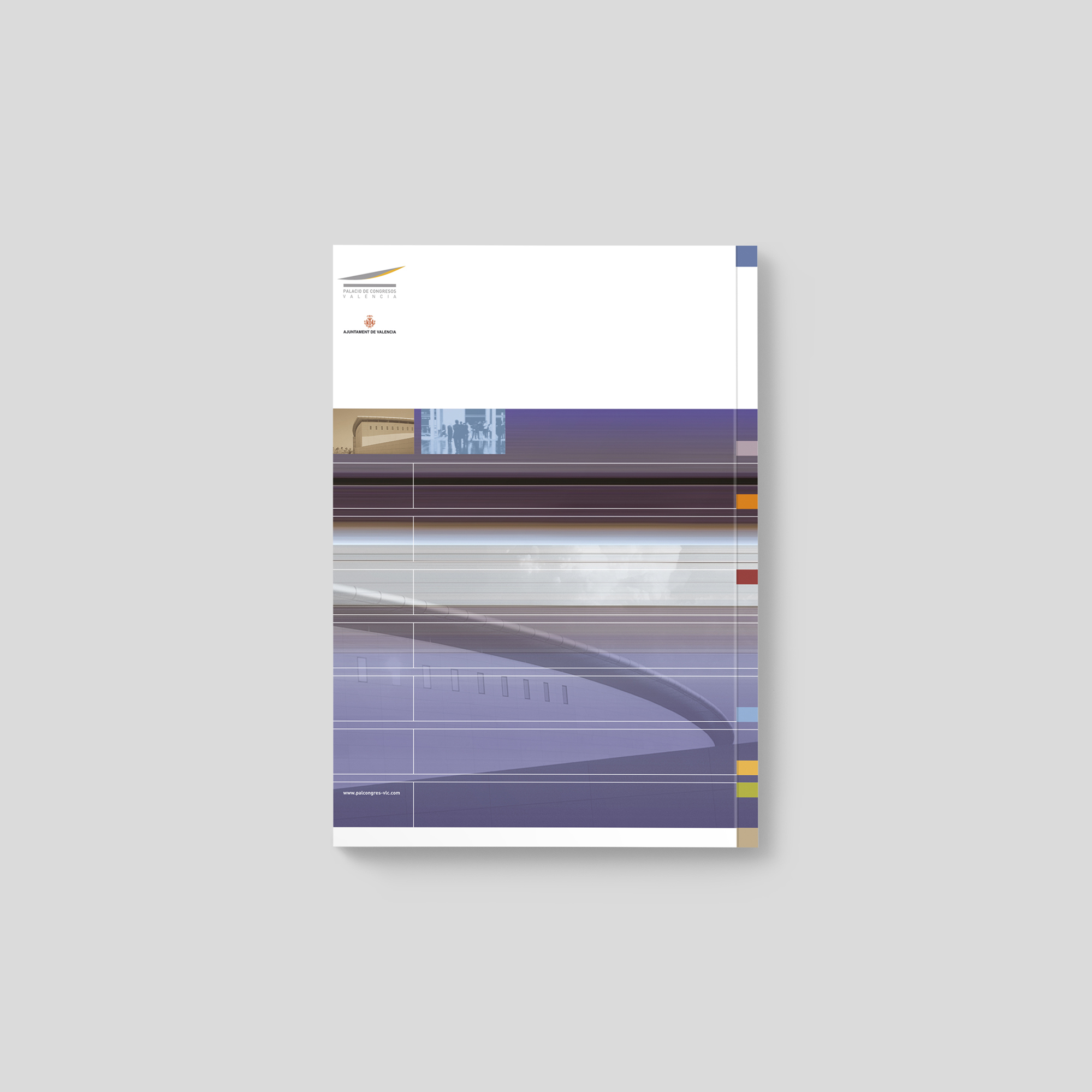 Armoder diseño editorial palacio de congresos valencia