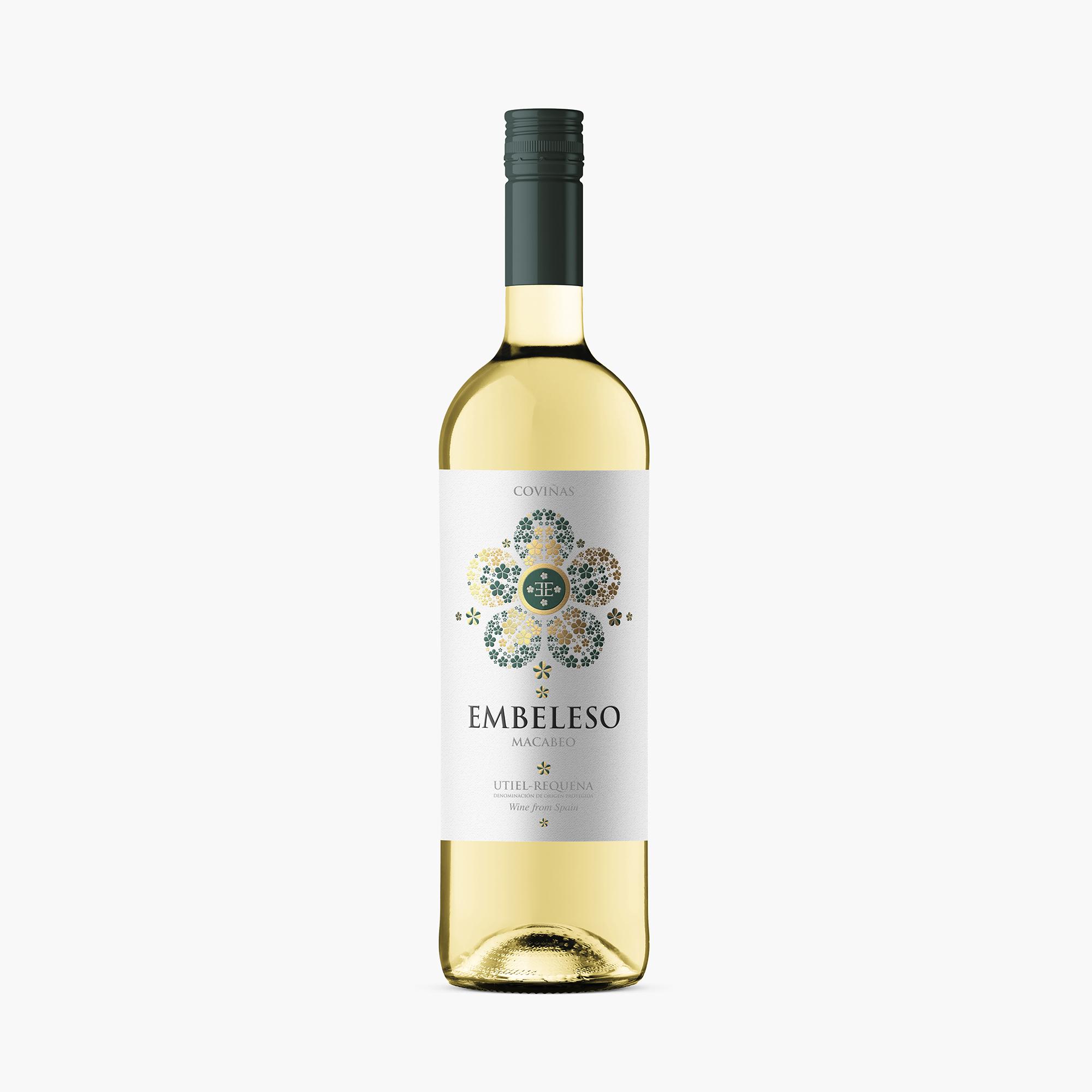 Diseño de etiqueta vino Coviñas