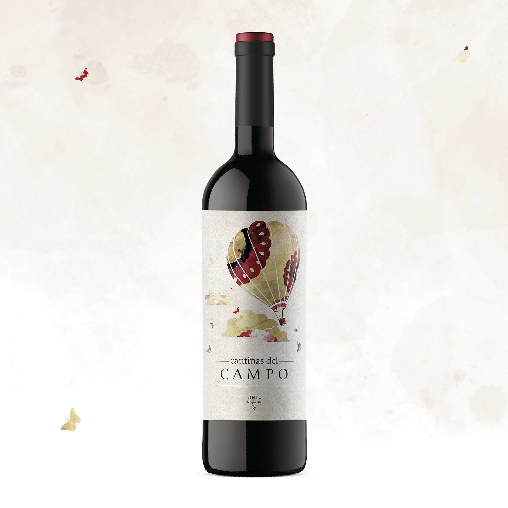 CANTINAS DEL CAMPO WINE LABEL DESIGN