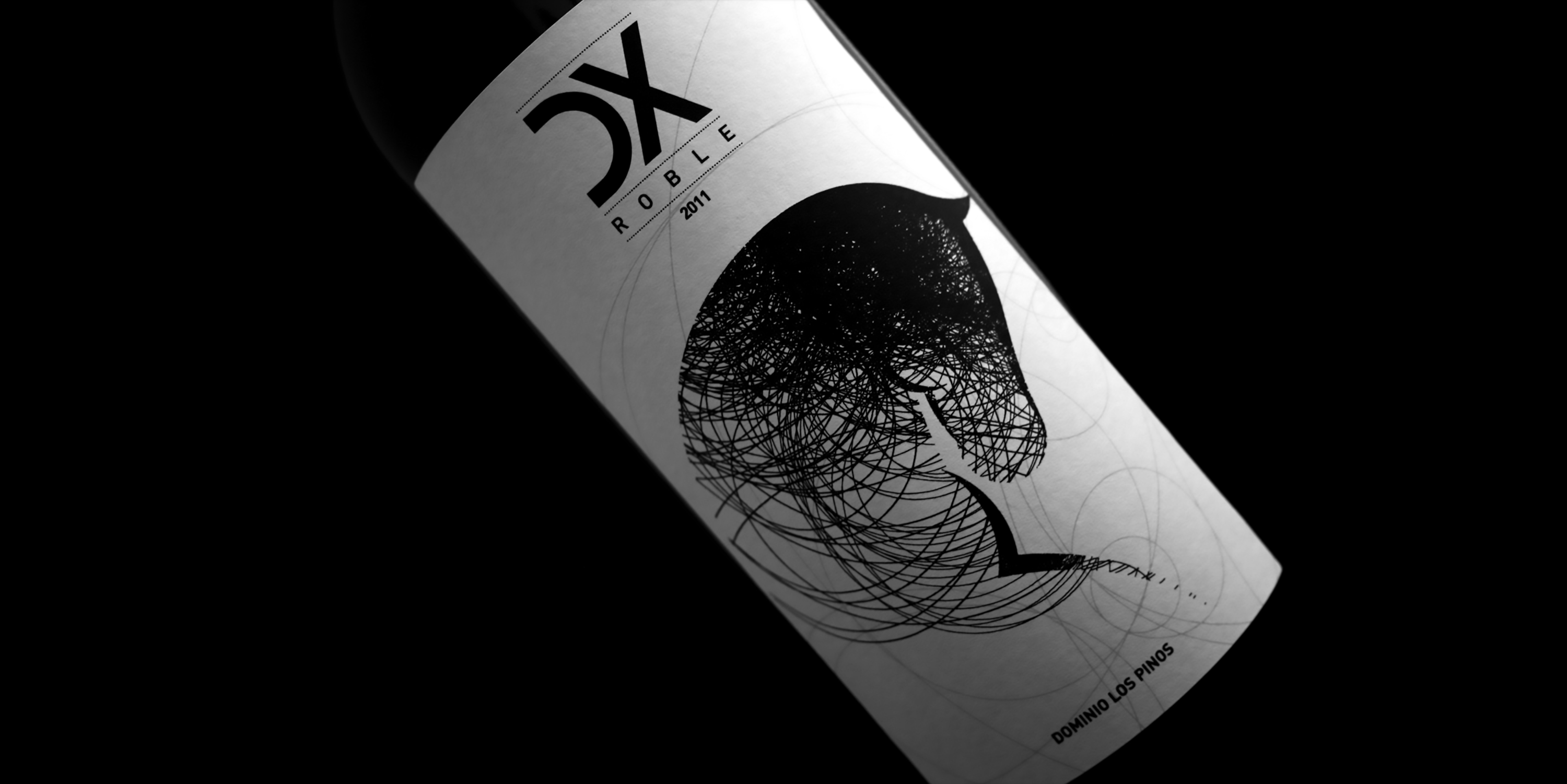 vino DX ROBLE Dominio LOS PINOS
