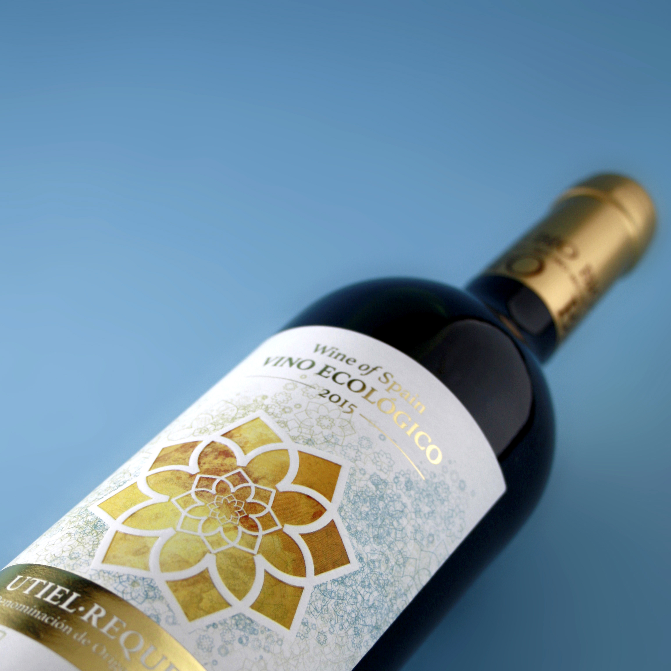 Wine label design Bodegas Coviñas