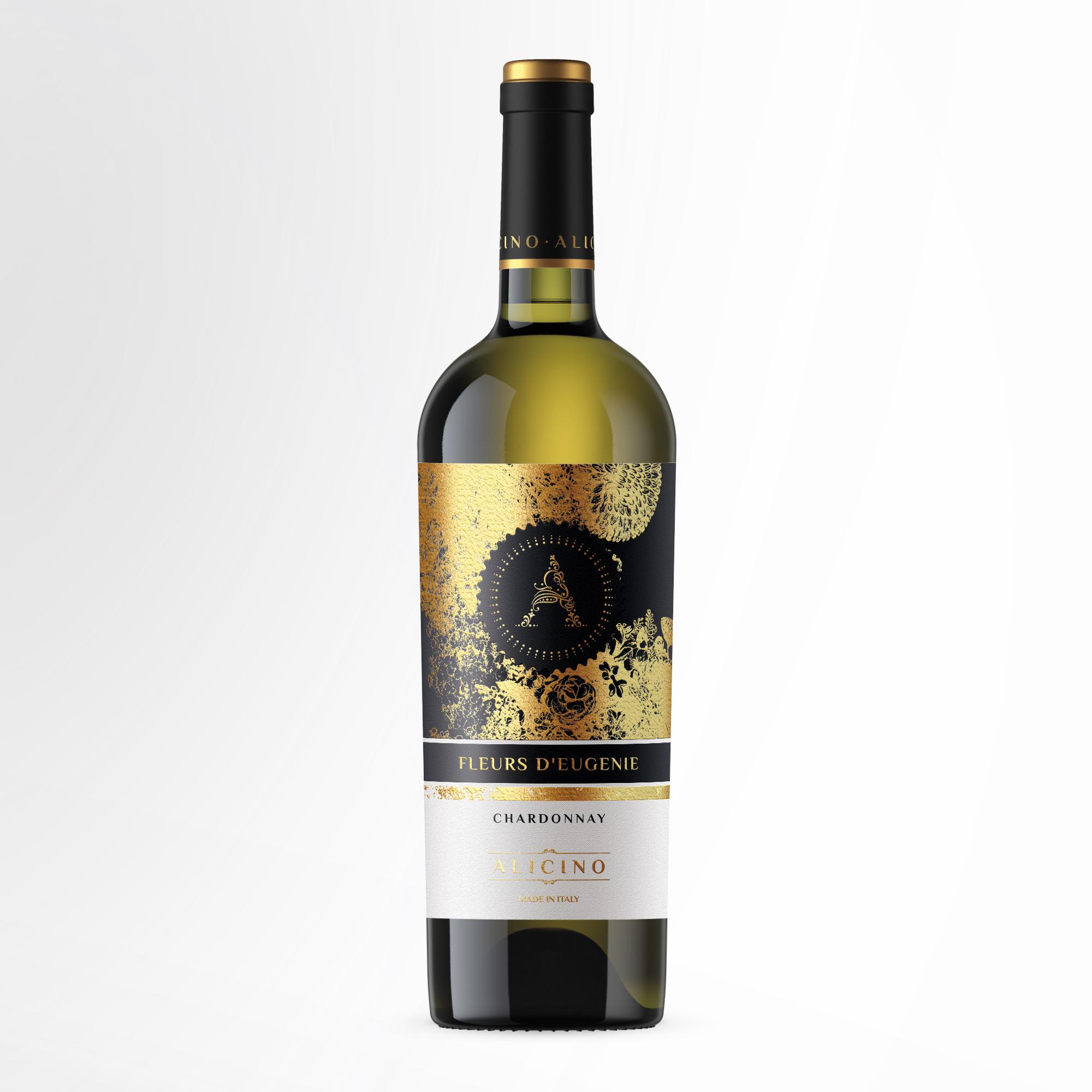 Disegno etichetta Vino