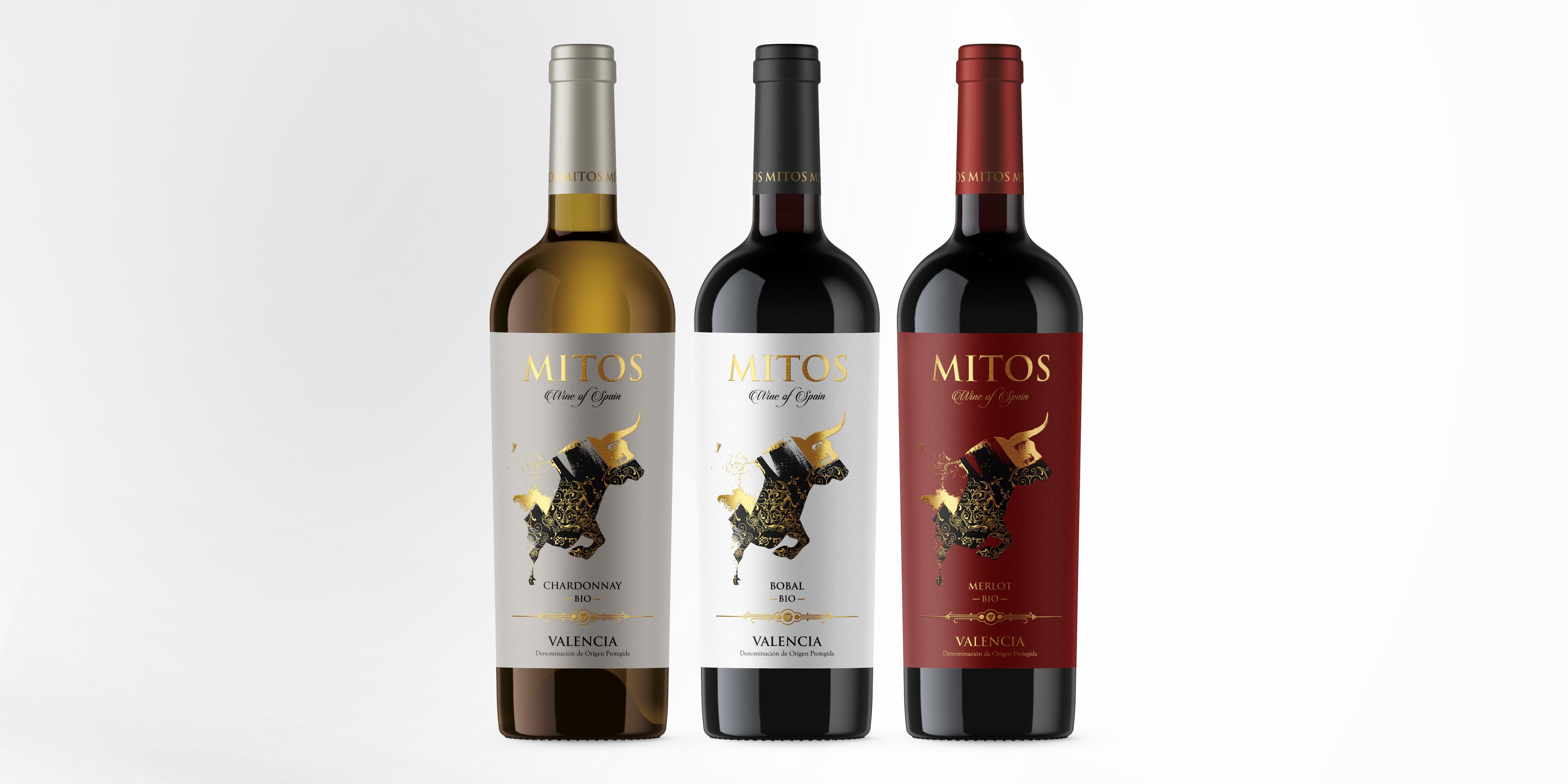 diseño etiqueta vino valencia