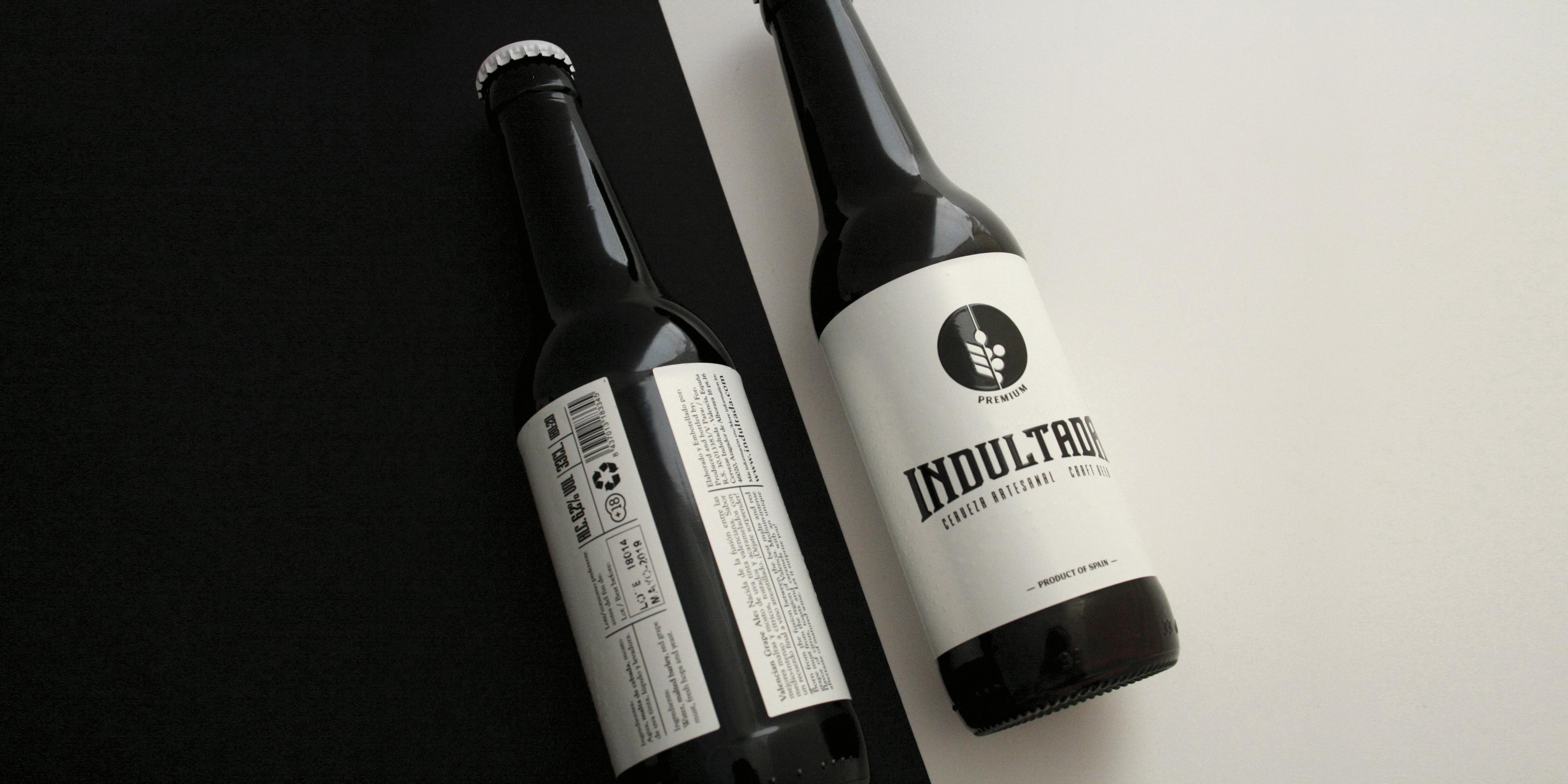 Armoder Diseño etiqueta cerveza Indultada