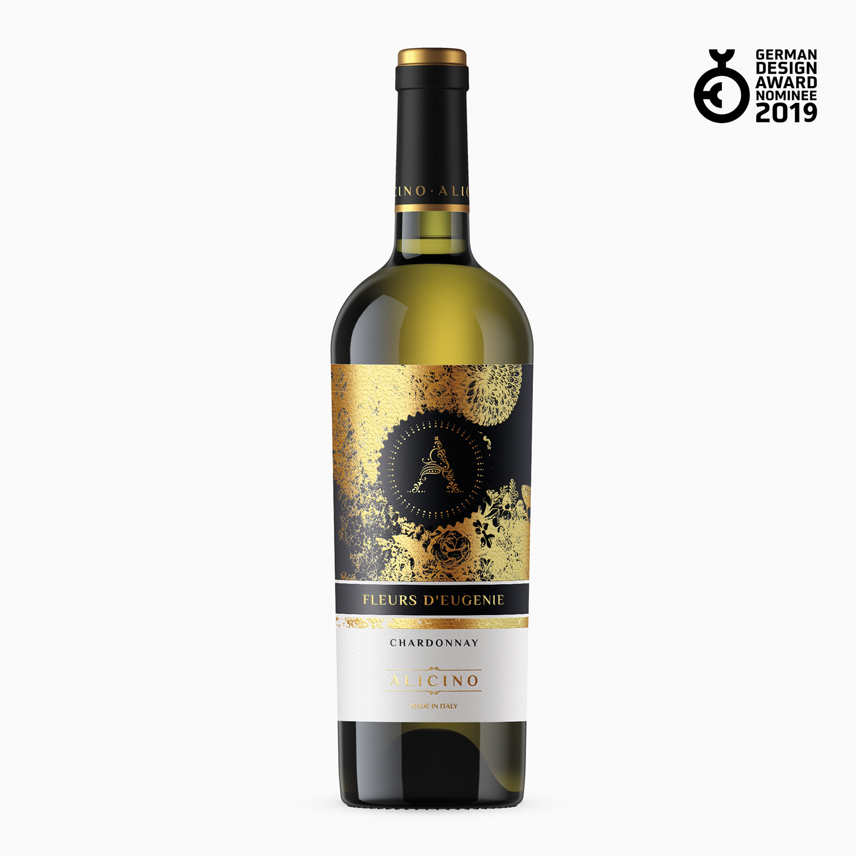 disegno etichetta vino alicino