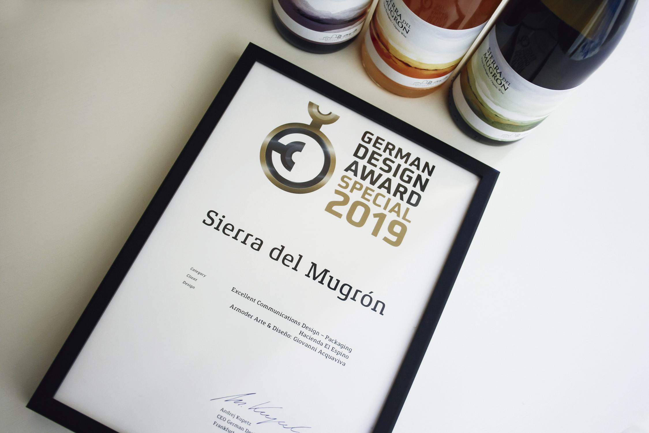 Sierra del Mugrón German Design Award Special Mention Armoder arte y diseño