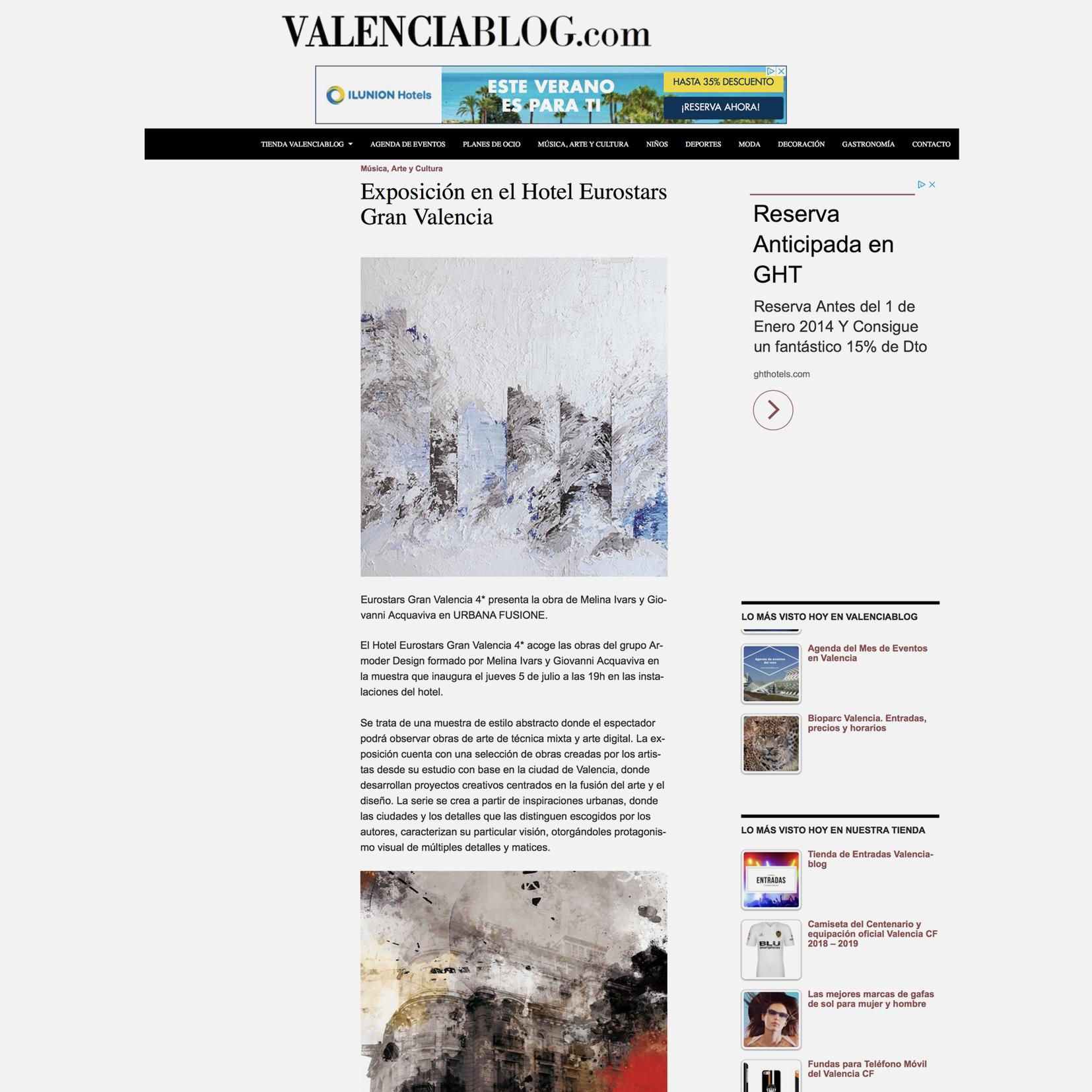 Exposición Arte Armoder Arte y Diseño