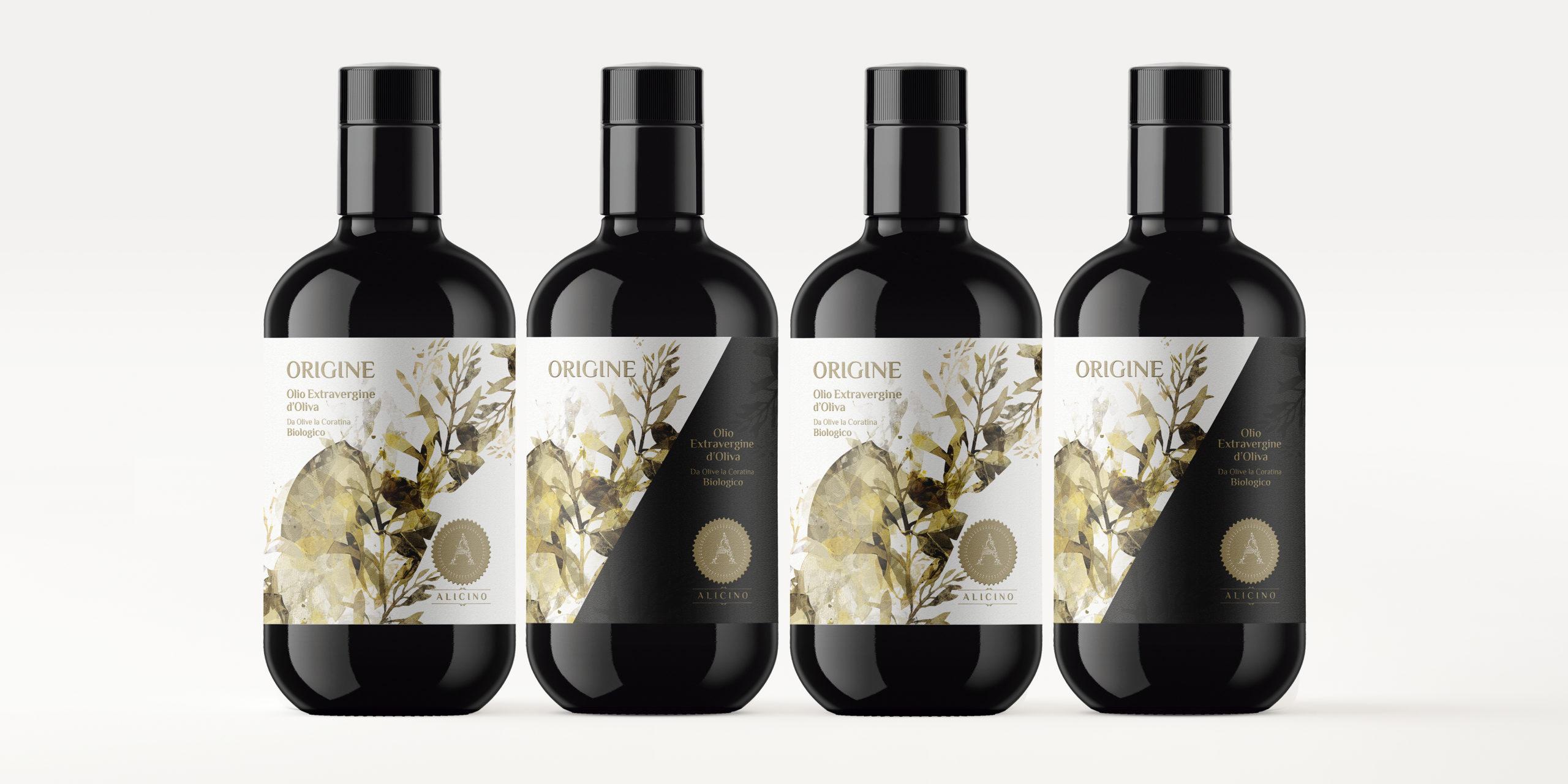 Diseño etiqueta Aceite de oliva extra virgen