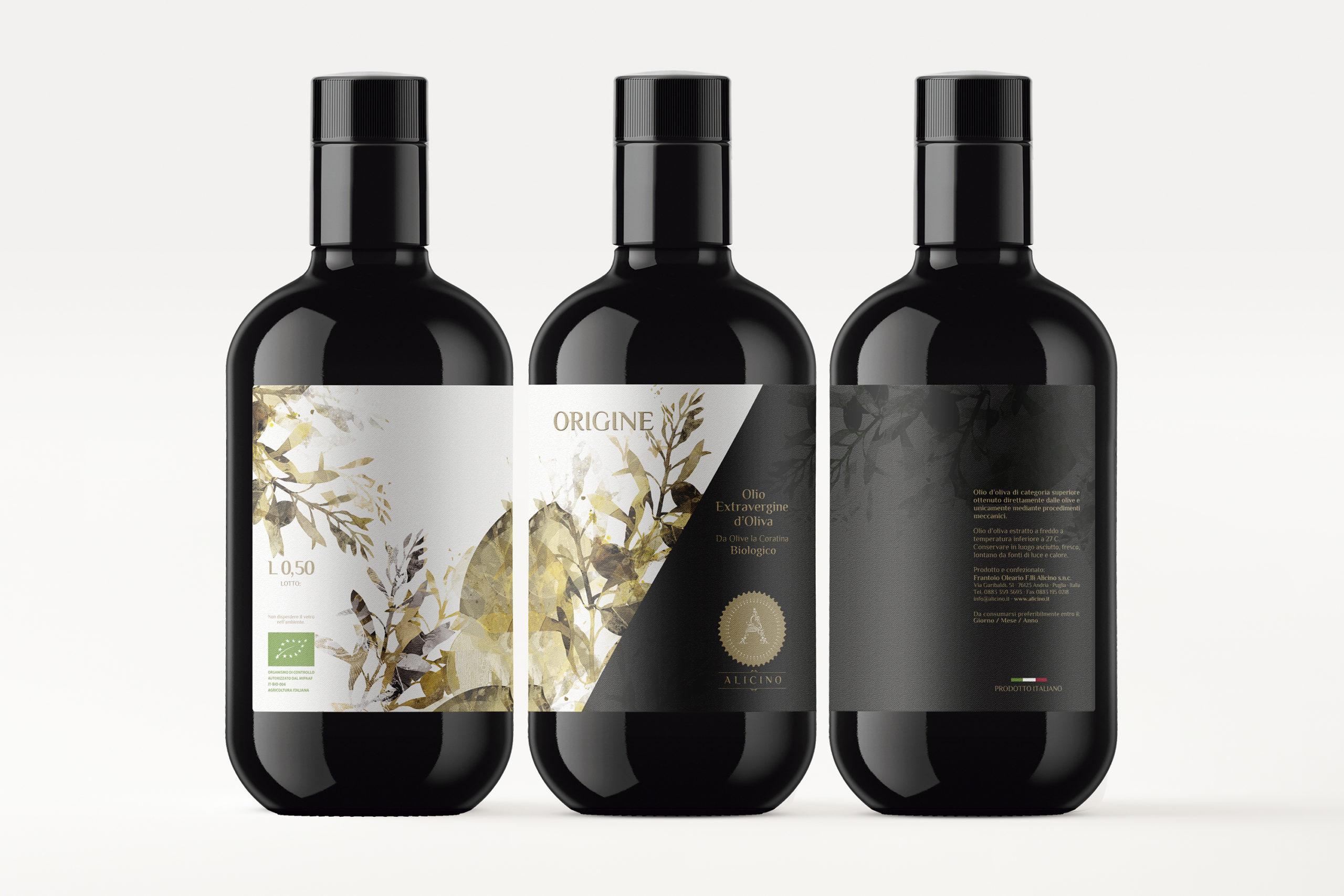Diseño etiqueta aceite de oliva virgen extra Armoder estudio Valencia España