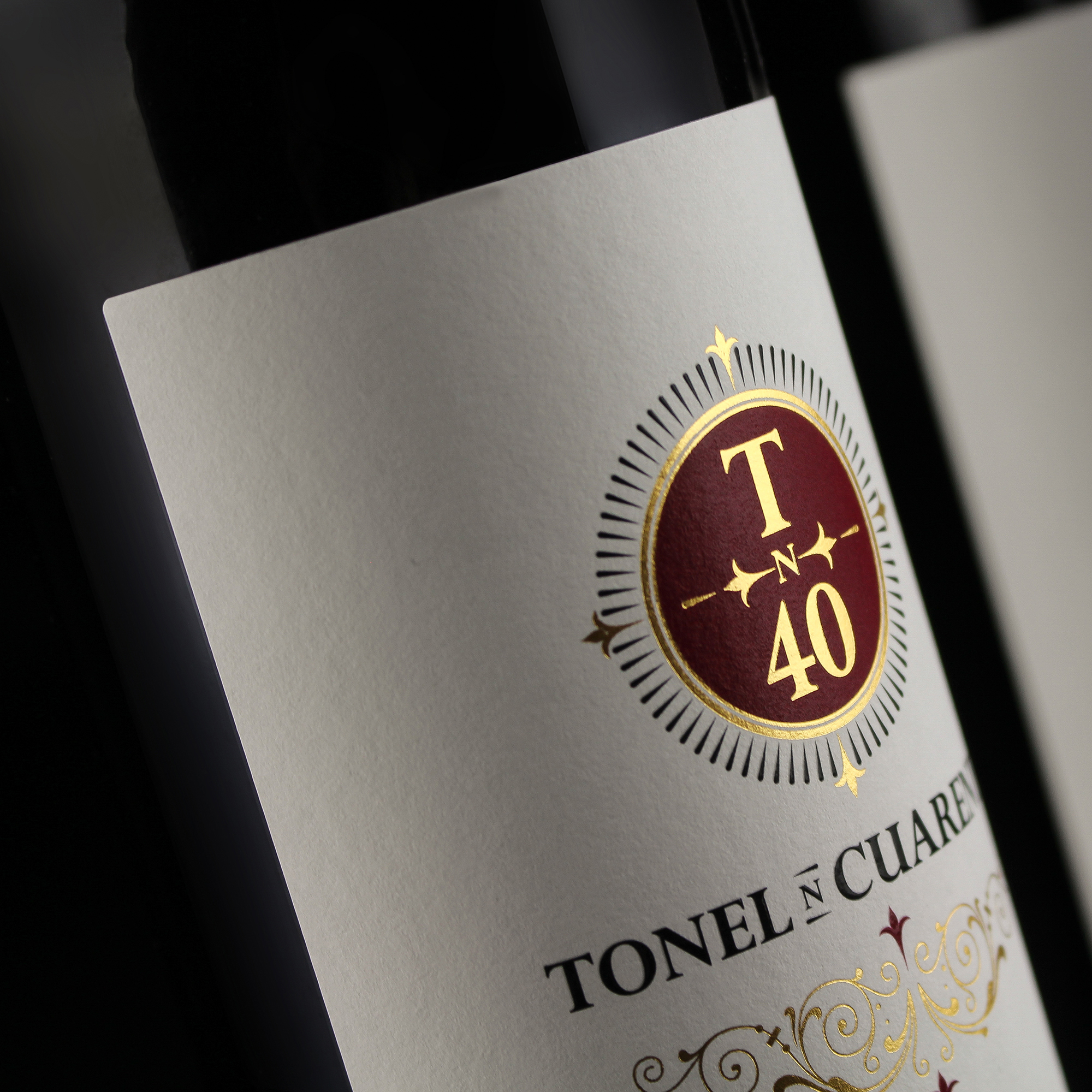 Wine Label design Tonel Cuarenta