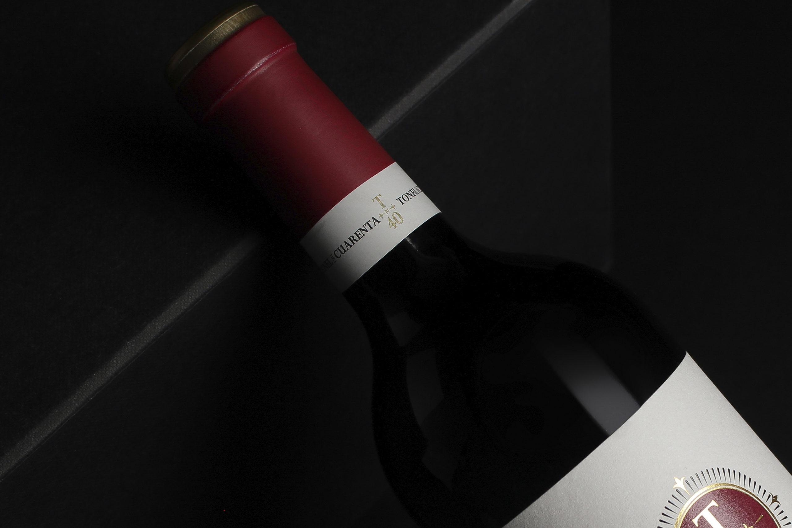 wine label design Tonel Cuarenta Reserva armoder
